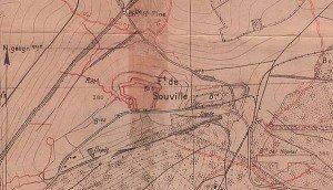 LE FORT DE SOUVILLE  souville_trenchmap-02-300x172