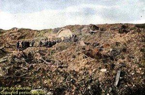 LA DEFENSE VICTORIEUSE DU FORT DE SOUVILLE - 11 ET 12 JUILLET 1916 ...SUITE 5 fort_souville_period_001.1-300x197