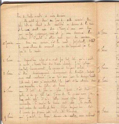 LETTRES DE SOLDATS PENDANT LA GUERRE 14-18 ....SUITE 3 1917-janvier-13
