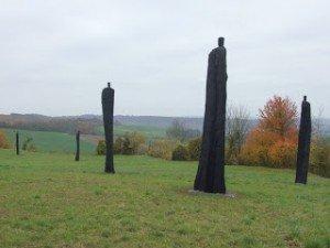 sculptures aux Tirailleurs Sénégalais de Y. BAUDOIN