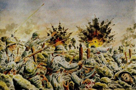 Verdun la bataille 11 et 12 juillet t moignages de - Dessin de poilu ...