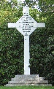 Croix de vimu - citadelle de Québec