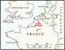 geolocalisation de Vimy