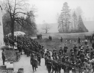 villers-Bretonneux: prisonniers allemands