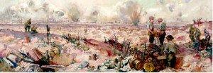 Bataille de Pozières   de Frank Crozier 1918