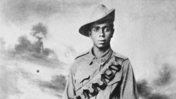 soldat W.C.Georges Saunders originaire de l'état de victoria , enhagé en 1916