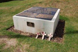 Pozières . Mémorial Australien