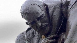 "simon Fraser ' statue des "" cobbers """