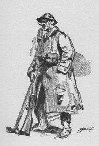 soldat  creuseur de mine