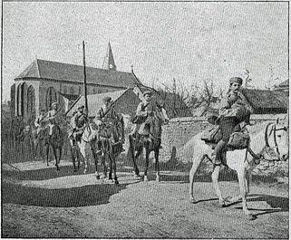 """photographie dans """" Pages de gloire """" e le 4 juillet 1915"""