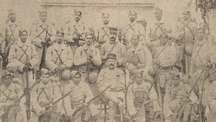 Volontaires Bengalis à toulon en 1916