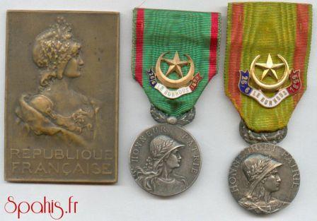 Médailles  Du Burnous