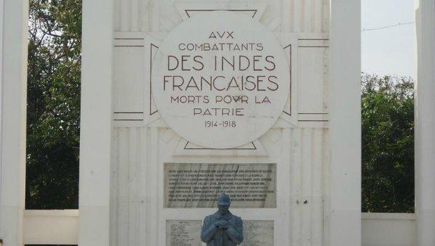 Monument à Pondicéry