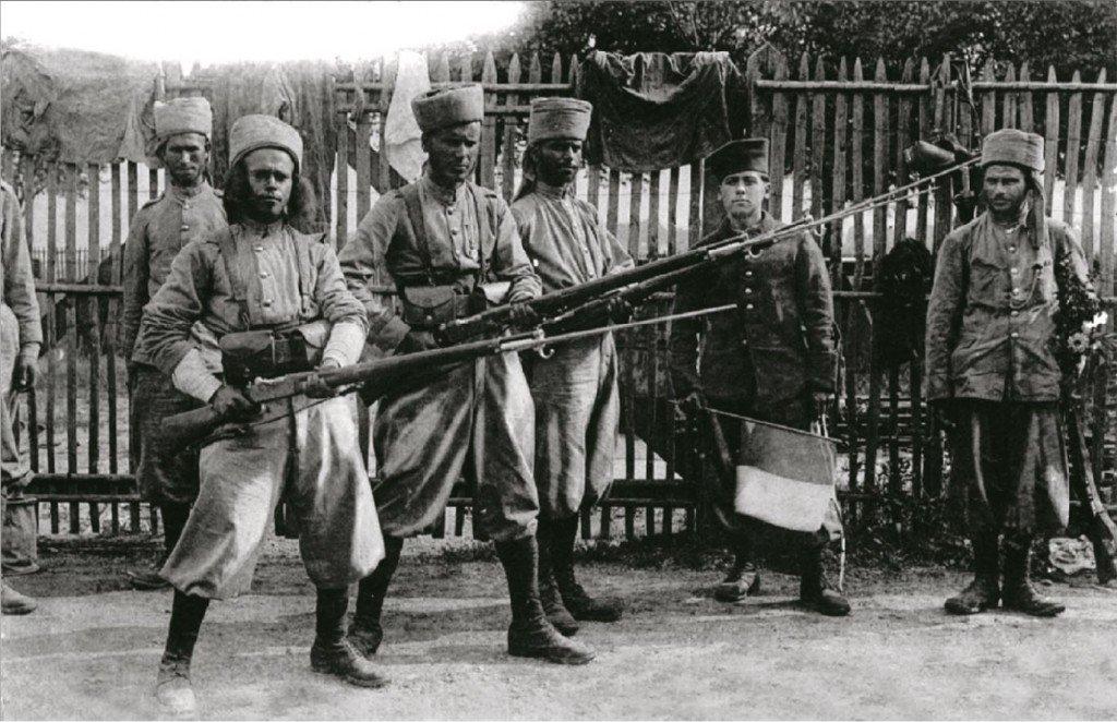 A BORDEAUX EN AOÛT 1914 POUR UNE PHOTO