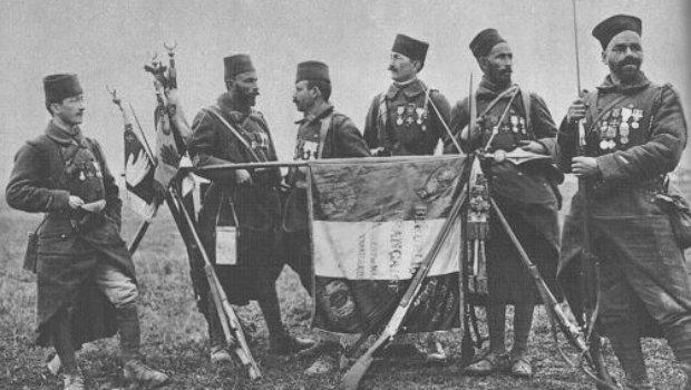 Le 7° R.I. de tirailleurs Algériens - 1917