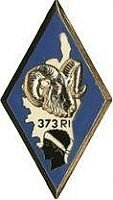 insigne du 373 e R.I.