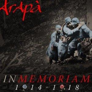 """""""in mémorian"""" 19141918 d'Arapà"""