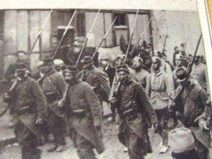 Prisonniers Allemands à Marmande   - automne 1914