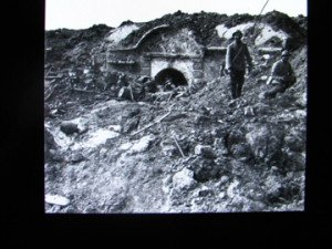 le fort de Souville aprés la bataille