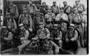 SOLDATS CORSES EN 1914