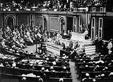 3 février 1917 , le président Wilson annonce au Congrés la rupture des relations avec l'Allemagne