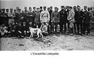 l'escadrille Layette