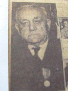 1965 - remise de médaille de Verdun