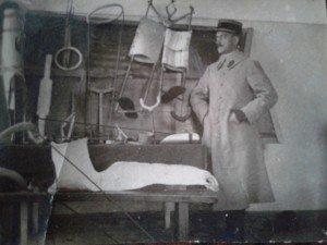Dr L. DELON pendant la guerre 14-18