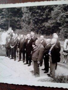 înauguration sous présidence de L. DELON de la stèle à Souville de K. Dupuy et de ses soldas